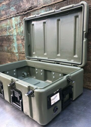 33x21x12, Hardigg Pelican Wheeled 472 Medchest Military Medical Chest Case Wheel