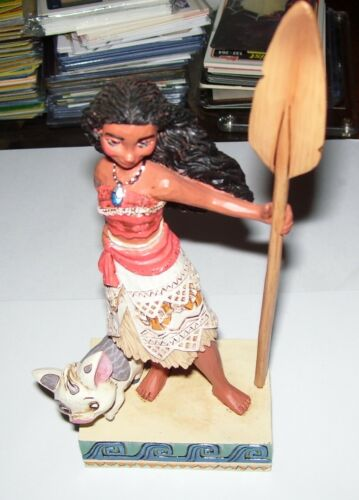 Jim Shore Disney Traditions Find Your Own Way Moana and Pua Figurine 4056754