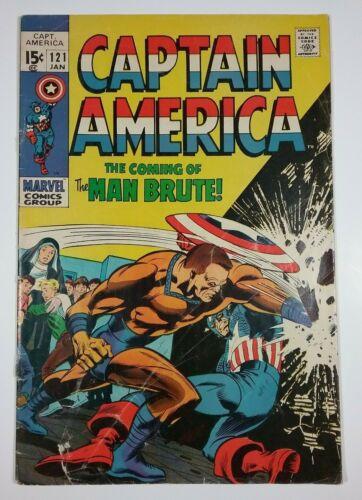 Captain America #121 GD/VG Marvel Comics