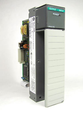 Allen Bradley Slc 500 1746-nio4v -n104v Ser A Analog Io Good Shape