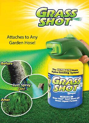 Grass Shot Lawn Fertilizer and Greener Mower Verdant Drop Seed Tiller Sod