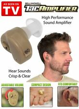 Bell + Howell Tac Amplifier - Compact Comfortable Sound Amplifier As Seen on TV!