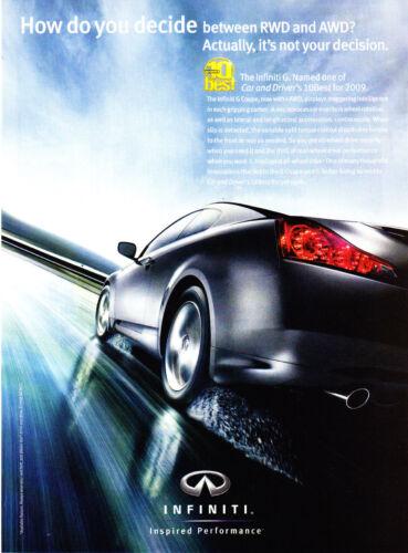 2009 Infiniti G Coupe I-AWD photo Car & Driver