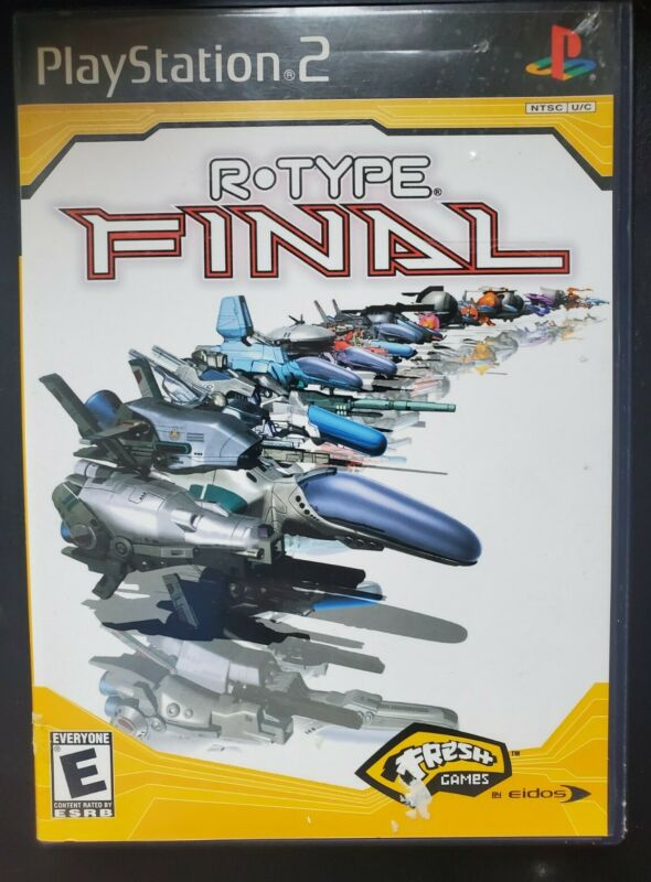 R-Type Final (Sony PlayStation 2, 2004) Complete With Manual Tested CIB PS2