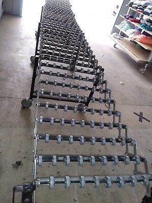 Best Flex Conveyor Gravity Skate Roller Warehouse Loading Boxes Etc..