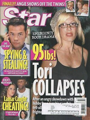 Khloe Kardashian   Tori Spelling    Star Magazine   10 19 09    C 4 1