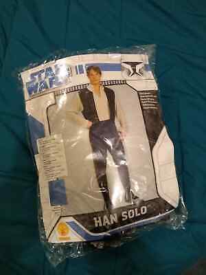 Deluxe Han Solo Star Wars Adult Mens Fancy Dress Up Party Costume (Adult Deluxe Han Solo Kostüm)