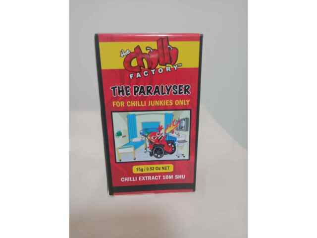 """THE PARALYSER 10m SHU 15g 75/10 """"VOLCANO"""" FOR CHILLI JUNKIES ONLY"""