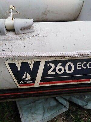 Wetline 260 Inflatable Boat Set