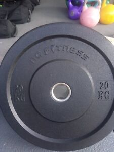 20kg OLY Rubber Plates (set of 2)