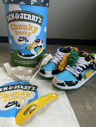 Nike SB 'Chunky Dunky' Ben & Jerry F&F Special Box - 10.5