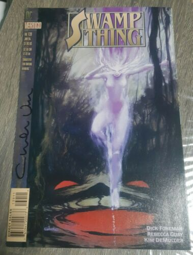 SWAMP THING #137 SIGNED CHARLES VESS  #1023 JUSTICE LEAUGE DARK