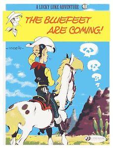 Lucky-Luke-v-43-Bluefeet-are-Coming-by-Morris-Book-Paperback-2013