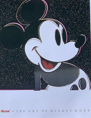 Andy Warhol Mickey Mouse, The Myths Series, 1981 UnFramed Print Disney