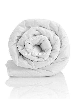 6 Tog Luxury Hotel Quality Duvets/Quilts with Best Quality Hollowfibre
