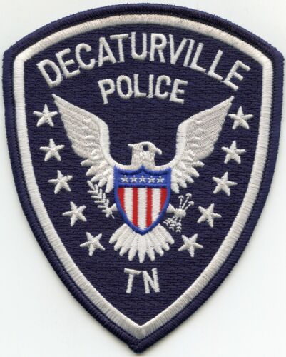 DECATURVILLE TENNESSEE TN POLICE PATCH