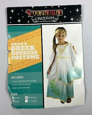 Spooktacular Creations Child's Greek Goddess Costume NEW BJ