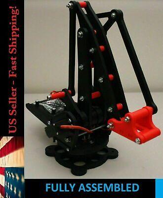 Uarm For Arduino Pi Mini Robot Arm Robotics Mg996 Servos Red Assembled