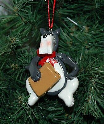 Dog, Canine, Lawyer, Judge Christmas Ornament