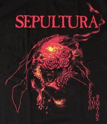 FREE SAME DAY SHIPPING NEW CLASSIC SEPULTURA BENEATH THE REMAINS SHIRT 2XL
