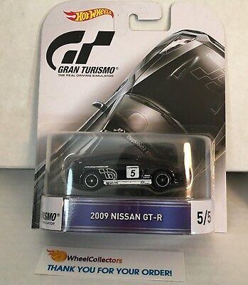 2009 Nissan GT-R * Black * Gran Turismo * Hot Wheels Retro * ZC7