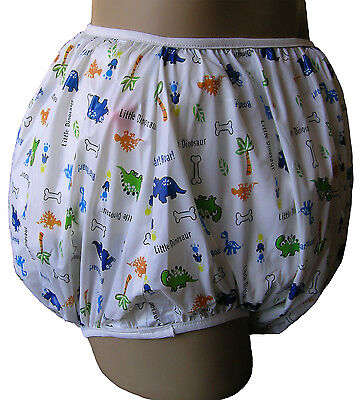 Baby Pants Classic Adult Plastic Pants For Bedwetters - Dinosaur Nursery Print