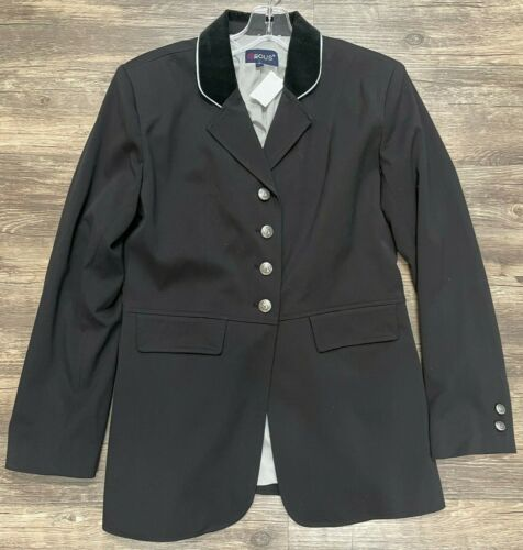 EOUS Dressage Coat - Black - Ladies 10