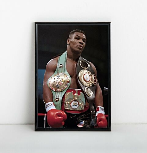 Mike Tyson Poster | Framed Art | Heavyweight Boxing Champ | NEW | USA