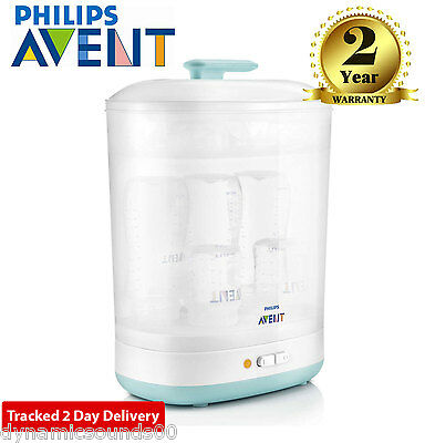 Philips AVENT Baby Wide Bottles 2-in-1 Electric Steam Steriliser SCF922/01