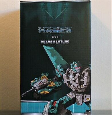 TFC Transformers H-04 Rhadamanthus LEOZACK Liokaiser Combiner, MIB/New 3rd Party
