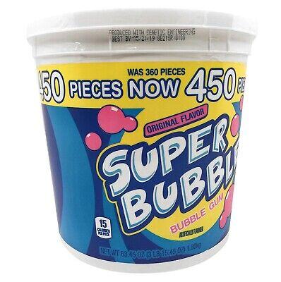Super Bubble Gum (Super Bubble Original Bubble Gum (63.45 oz., 450 ct.) (pack of)