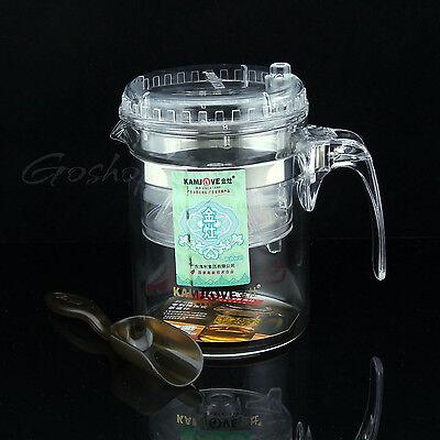 300ml Kamjove Glass Gongfu Tea Maker Press ...