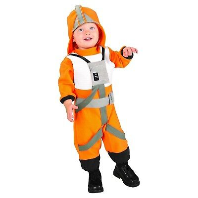 NEW NWT Costume STAR WARS X-WING FIGHTER PILOT TODDLER Size SMALL 2T-3T