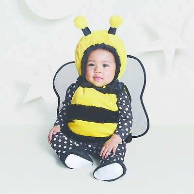 NEW NWT Boys or Girls Baby Bumble Bee 0-6 Months 4 Piece Set Vest Booties