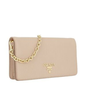 Prada chain wallet