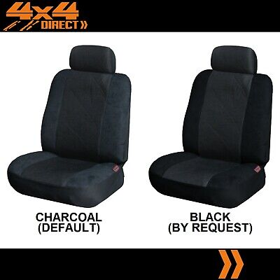 SINGLE JACQUARD & SUEDE SEAT COVER FOR FERRARI 400 I