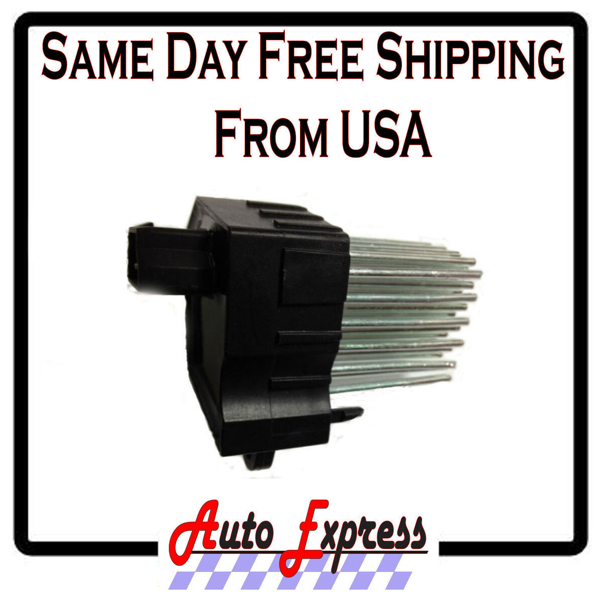 BMW Range Rover Land Rover Heater Fan Blower Motor Resistor