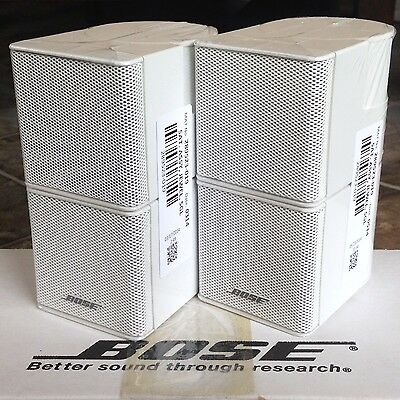2 Bose Jewel Double Cube Premium Speakers In Absolutely MINT Condition -