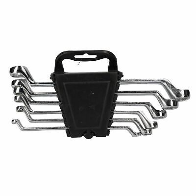 Metric Double Ended Bi-hex Ring Spanners 6mm - 17mm 6 Spanners 12 Sizes