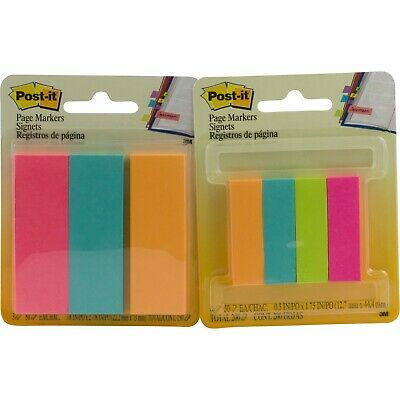 Post-it Notes Sticky Page Markers 350 Total