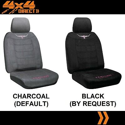 SINGLE R M WILLIAMS JILLAROO SUEDE SEAT COVER FOR DODGE JOURNEY