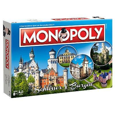 Monopoly Schlösser & Burgen Deutschland Edition Gesellschaftsspiel Brettspiel ()