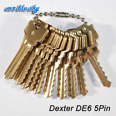 Dexter Lock De6 Space Depth Keys Locksmith Code Cutting Key Set