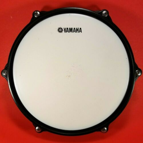 "Genuine YAMAHA Drum Pad OEM Drum Head White 8"" Pad Size Quiet Drumming Practice"