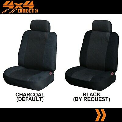 SINGLE JACQUARD & SUEDE SEAT COVER FOR HOLDEN COMMODORE UTE