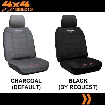 SINGLE R M WILLIAMS JILLAROO SUEDE SEAT COVER FOR MAZDA BT50