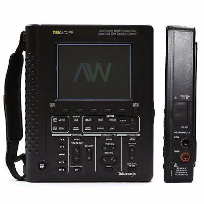 Tektronix Ths720 Digital Oscilloscope 100mhz500msas2ch