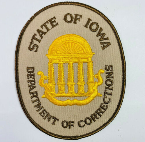 Iowa Department of Corrections IA DOC Patch