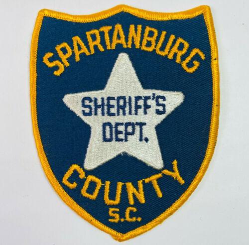Spartanburg County Sheriff South Carolina SC Patch (A1)
