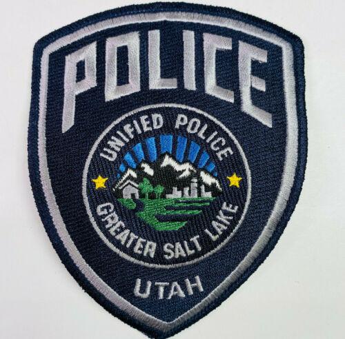 Greater Salt Lake Unified Police Utah UT Patch (B)